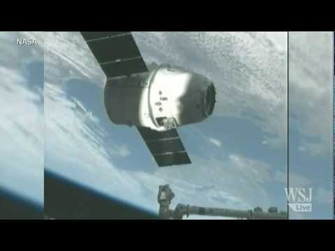 SpaceX Docks With the International Space Station