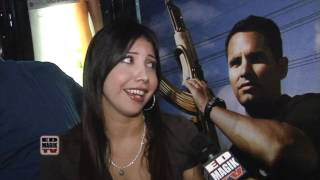 Yahira Flakiss Garcia (La-La) Interview at End of Watch (2012) Movie Meet and Greet