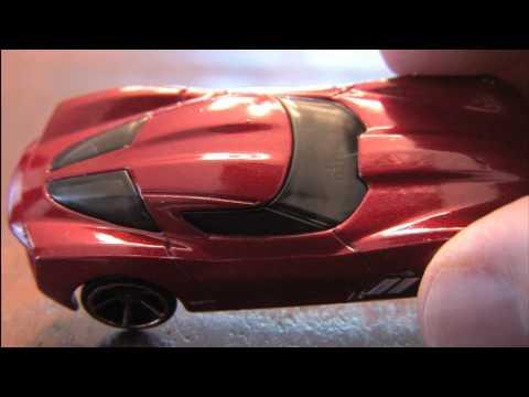 Corvette Stingray Diecast on 2009 Corvette Stingray Concept Hot Wheels Review By Cgr Garage