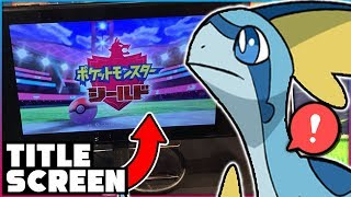 POKEMON SWORD AND SHIELD TITLE SCREENS REVEALED! New Starter Evolution Typings Rumor!