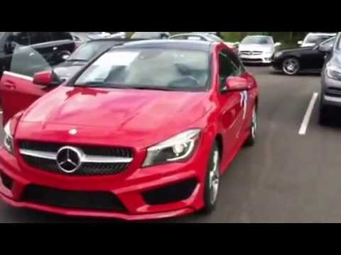 2014 mercedes benz cla in red youtube for Red mercedes benz cla