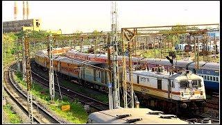 Trivandrum Mail vs Tamilnadu Express | The Race to Enter Chennai Central |