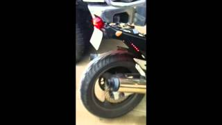 Katana 750 Drilled Exhaust Sound
