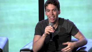 Jordan Gavaris talks about feedback from the LGBT community.
