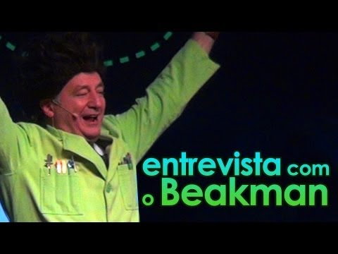 Entrevista com o Beakman (sim, com o Beakman!!!) - Interview with Paul Zaloom, the Beakman