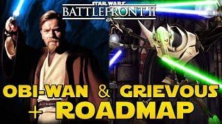 GRIEVOUS & OBI-WAN (Développement) + Chasse Géonosiens & Roadmap (Sortie) | Star Wars Battlefront 2