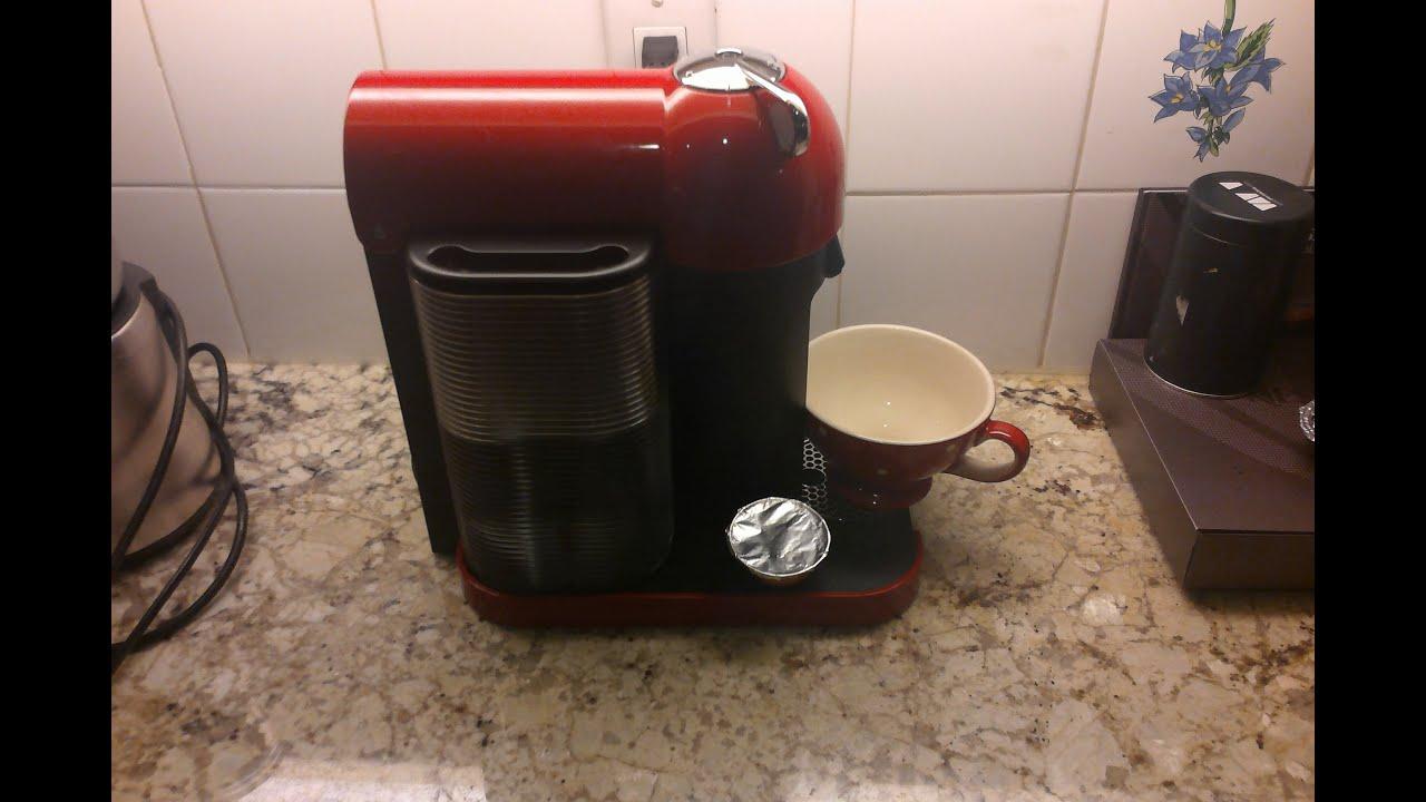Nespresso vertuoline hack free capsule reuse less than a minute youtube - Presentoir capsules nespresso ...