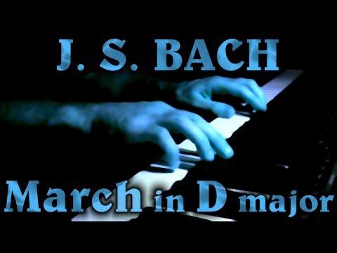 Бах Иоганн Себастьян - Anh 122 Marche In D
