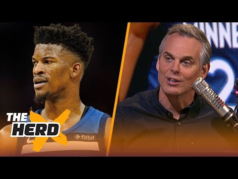 Colin Cowherd thinks less of Jimmy Butler today | NBA | THE HERD