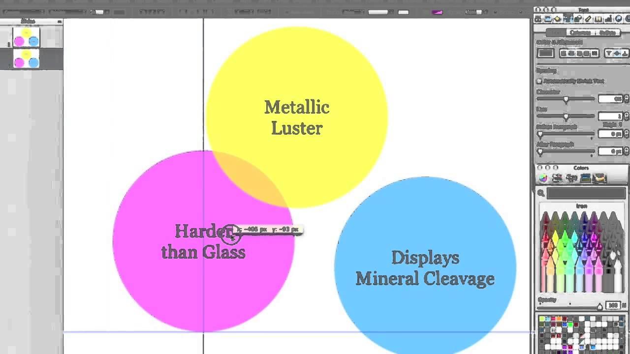 how to make a venn diagram in keynote