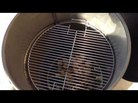 Pit Barrel Cooker Initial Cook