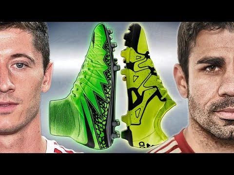 Lewandowski VS Diego Costa - Boot Battle: Nike Hypervenom 2 vs. adidas X15 Test & Review