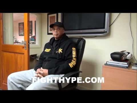 VIRGIL HUNTER LIKES AMIR KHAN'S CHANCES OF STOPPING LUIS COLLAZO