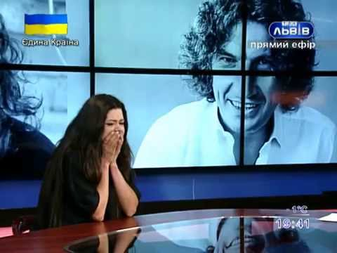Руслана, згадуючи Кузьму, розплакалась в прямому ефірі ТРК Львів