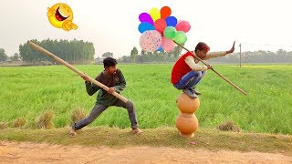Must Watch New Funny Video😂😂Top New Comedy Video 2019 | Try To Not Laugh | By My Family