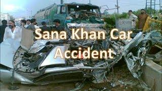 Sana Khan Road Car Accident Video Kuch Kuch Hota Hain child actress