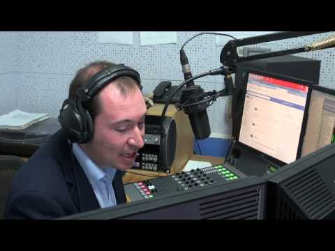 Radio Gibraltar's Lunchtime (Behind the Scenes)
