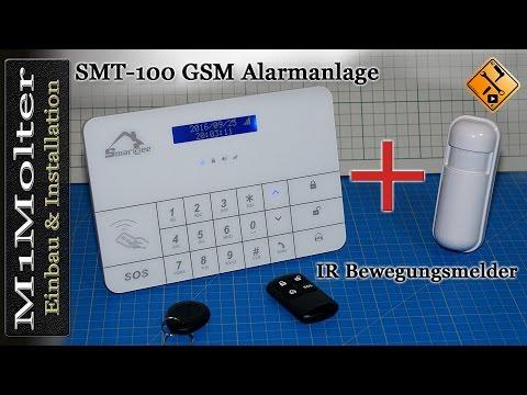 Funk Bewegungsmelder an Alarmanlage anmelden und montieren Teil 4 von M1Molter
