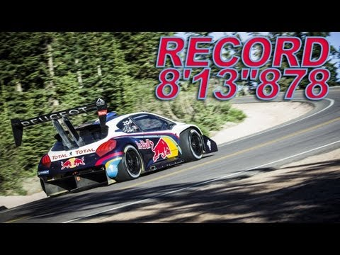 2013 Pikes Peak - The Race - 208 T16 Sébastien Loeb Record 8'13''878