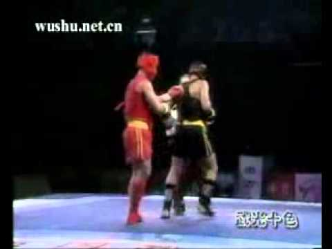 80kg Sanshou Kung Fu- Liu Hailong vs Mohamed Selit Image 1