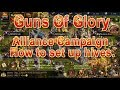Guns Of Glory Alliance Campaign Hive set up Tips!