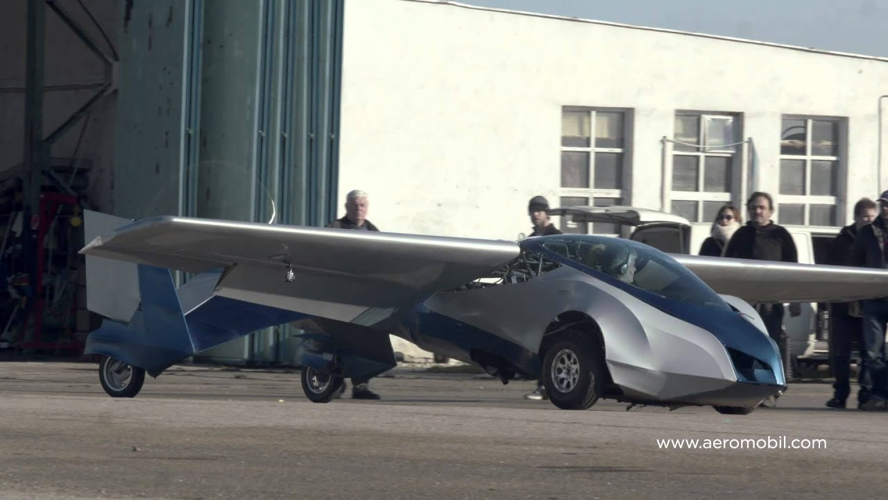 Will You Be Comfortable Driving And Flying An AeroMobil- Flying Car?