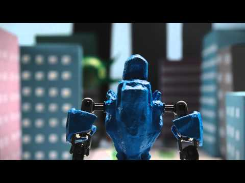 Stop Motion Short – Robots and Devil Knowledge