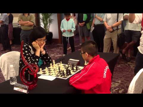HY Blitz Chess Challenge 2012: Hou Yifan vs Tommy Tan