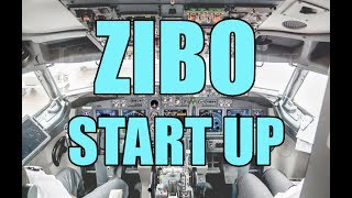 737-800 ZIBO Start-Up Procedures [2018] Checklist included!