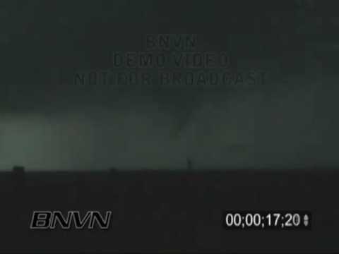 5/30/2005 Baca County, CO Tornado Stock Footage