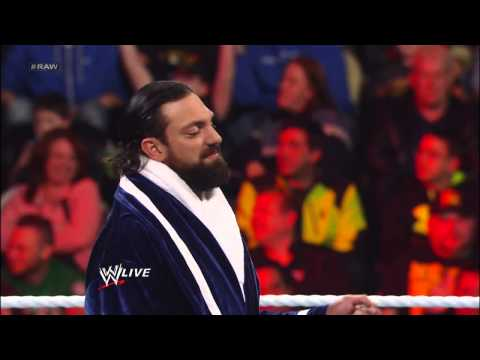R-Truth vs. Damien Sandow: Raw, March 18, 2013