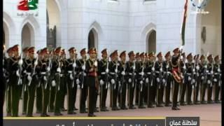 تلفزيون،الكويت : سمو امير البلاد يصل سلطنة عمان في زيارة رسمية