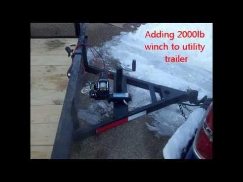 Car Trailer Hitch Kit