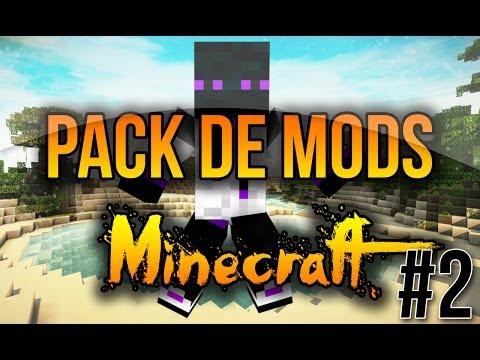 Mod Pack 1.8/1.7.10/1.7.2 Descargar El Mejor Pack De Mods Para .Minecraft Premium/No Premium