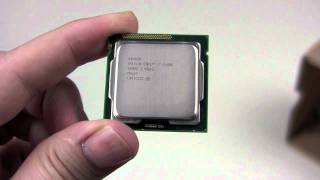Intel i7 2600k Sandy Bridge Unboxing / Review german