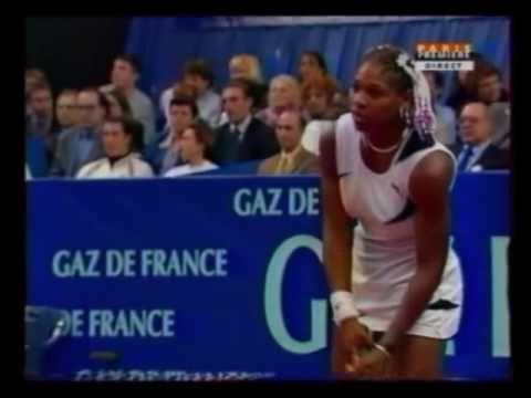 セレナ(セリーナ) ウィリアムズ vs Amelie モーレスモ 1999 GDF 決勝戦(ファイナル)