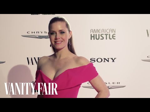 Chrysler and Vanity Fair Toast The Cast of American Hustle