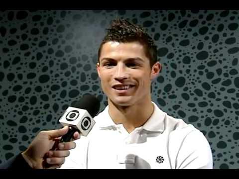 Entrevista de Cristiano Ronaldo ao Esporte Espetacular - Rede Globo