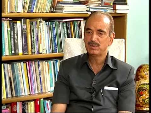 Gulam Nabi Azad's exclusive interview with DD News
