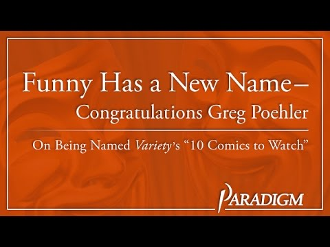 Greg Poehler - Variety's 10 Comics To Watch