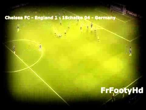 Goal ! Klaas Jan Huntelaar Schalke 04 VS Chelsea Champions league