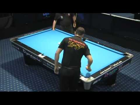 European Pool Championships Seniors 2011 Costa (PORT) vs Worung (NED) 9-ball (part2)