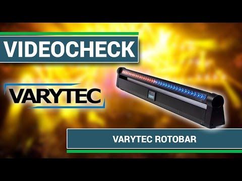 Videocheck - Varytec Rotobar