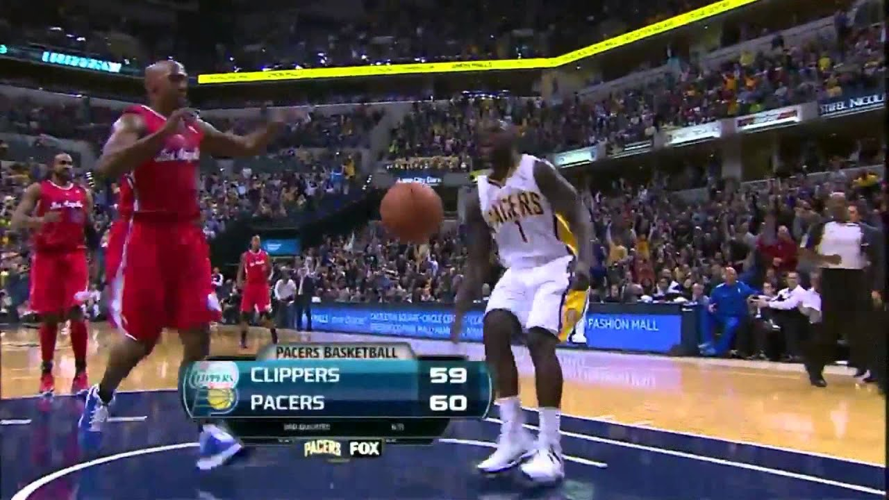 Lance Stephenson Dunks Lance Stephenson Dunk of The