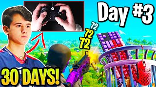 Bugha 30 Day Controller Challenge! (Fortnite)