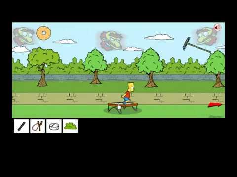 Game   Bart Simpson Saw Game 2 Solución Juego Completo   Bart Simpson Saw Game 2 Solucion Juego Completo