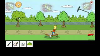 Game | Bart Simpson Saw Game 2 Solución Juego Completo | Bart Simpson Saw Game 2 Solucion Juego Completo