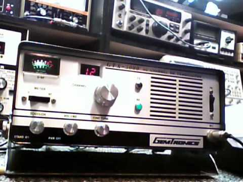 Gemtronix GXT-5000 tube type base cb radio
