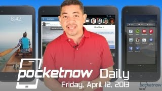 HTC First and Facebook Home, Motorola X Delays, BlackBerry Accusations & more - Pocketnow Daily
