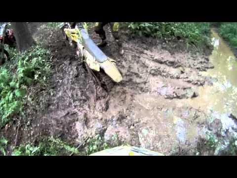 Mudding with dirt bikes using GoPro's.
